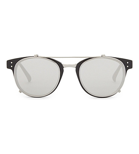 LINDA FARROW Lfl581 D-frame sunglasses (Black