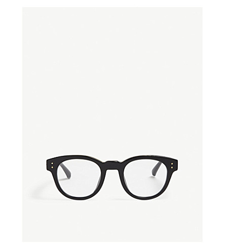 LINDA FARROW LFL598 D-frame glasses (Black