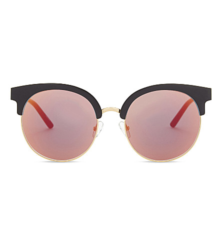 MATTHEW WILLIAMSON Mw160 cat-eye sunglasses (Black