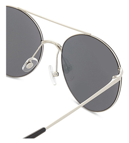 MATTHEW WILLIAMSON Mr161 aviator sunglasses (Silver