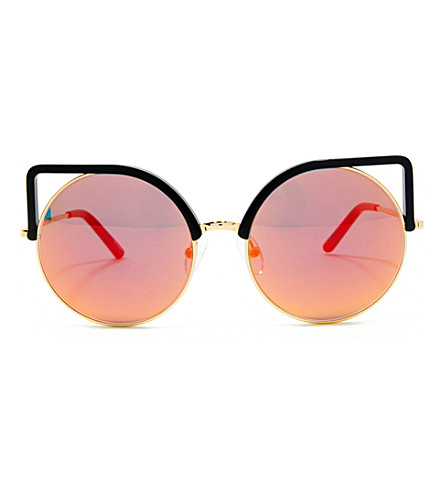 MATTHEW WILLIAMSON Mw169 cat-eye sunglasses (Black