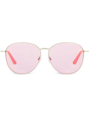 MATTHEW WILLIAMSON Round Revo lens sunglasses