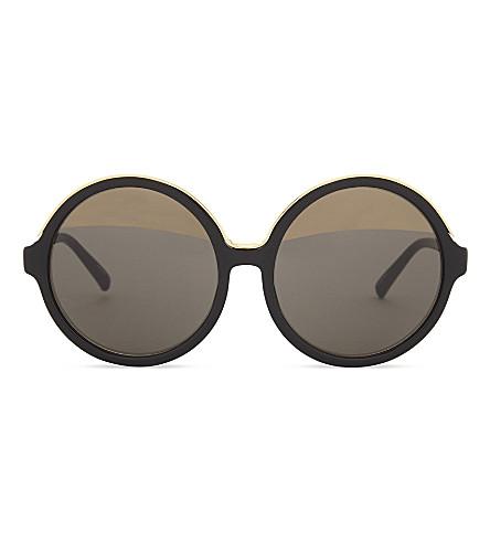 NO 21 N2116 round-frame sunglasses (Black