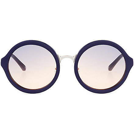 3.1 PHILLIP LIM Navy acetate sunglasses (Navy