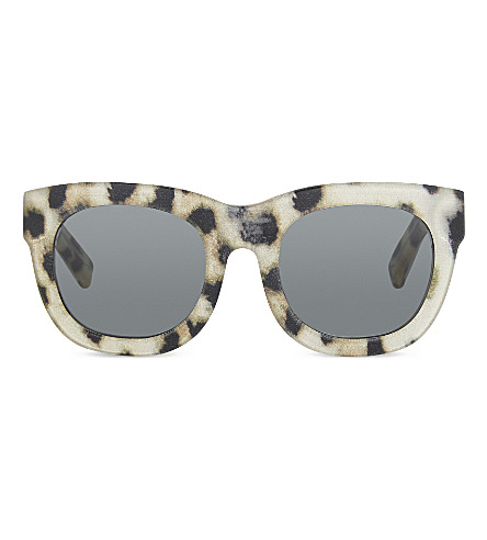 3.1 PHILLIP LIM PL159 square-frame sunglasses (Clear+with+silk