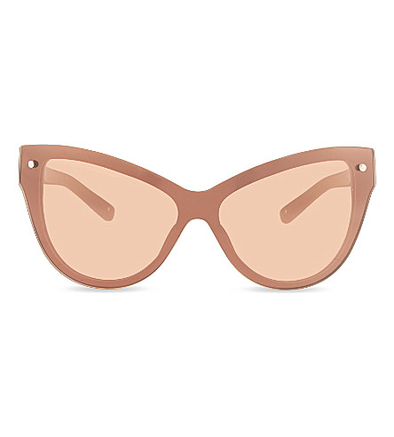 3.1 PHILLIP LIM PL76 cat eye sunglasses (Camel+&+bronze
