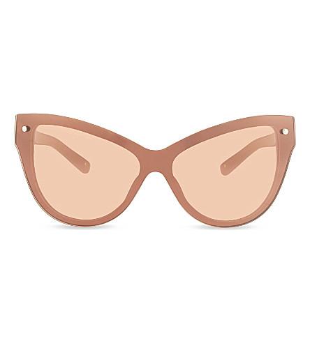 3.1 PHILLIP LIM PL76 cat eye sunglasses (Camel+&+bronze