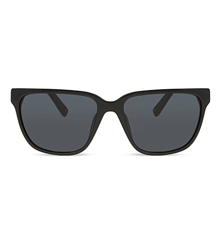 3.1 PHILLIP LIM PL85 square sunglasses (Black+&+silver