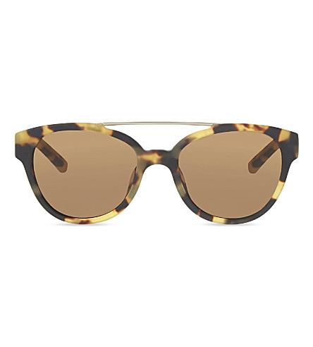 3.1 PHILLIP LIM PL92 D-frame sunglasses (Tortoise+&+gold