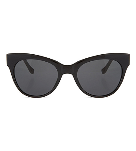 THE ROW Black acetate sunglasses (Black & noir