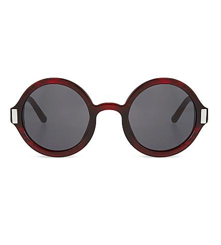 THE ROW Inky acetate sunglasses (Inky black