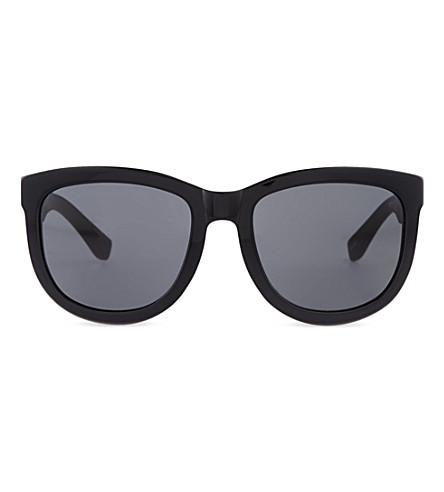 THE ROW Black acetate sunglasses (Black & noir