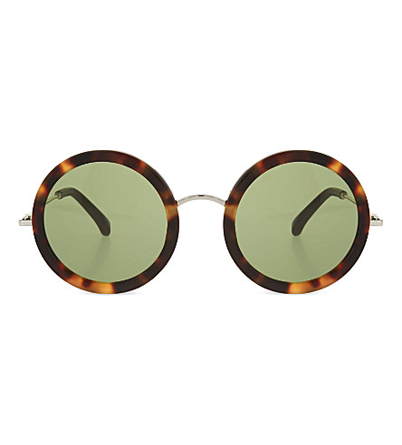 THE ROW Tortoiseshell acetate sunglasses (Tortoiseshell+walnut