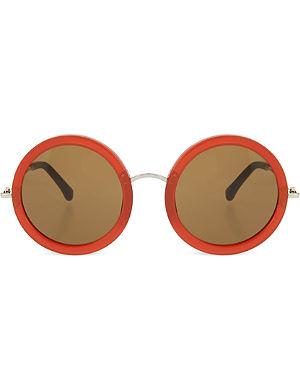 THE ROW Acetate round sunglasses