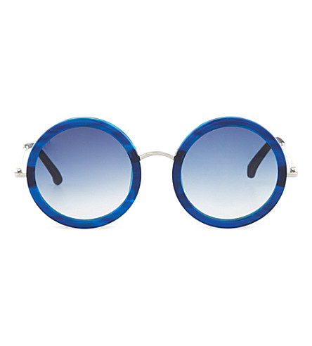 THE ROW Imperial blue acetate sunglasses (Imperial blue