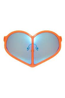 WALTER VAN BEIRENDONCK Heart sunglasses