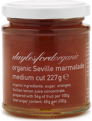 DAYLESFORD Organic Seville orange marmalade 227g