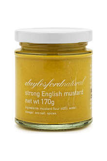 DAYLESFORD Organic strong English mustard 170g