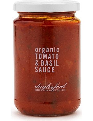 DAYLESFORD Organic tomato and basil pasta sauce 280g