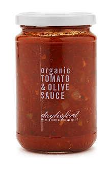 DAYLESFORD Organic tomato and olive pasta sauce 280g
