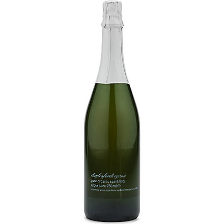 DAYLESFORD Organic sparkling apple juice 750ml