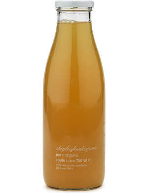 DAYLESFORD Organic apple juice 750ml