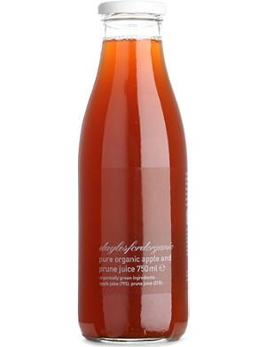 DAYLESFORD Organic apple & prune juice 750ml