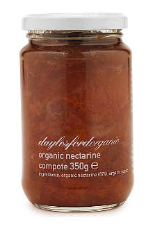 DAYLESFORD Organic nectarine compote 350g