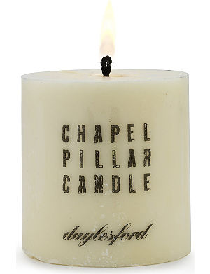 DAYLESFORD Chapel pillar candle 7cm