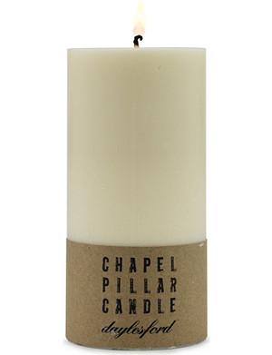 DAYLESFORD Chapel pillar candle 15cm