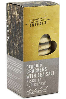 DAYLESFORD Organic crackers with sea salt 120g