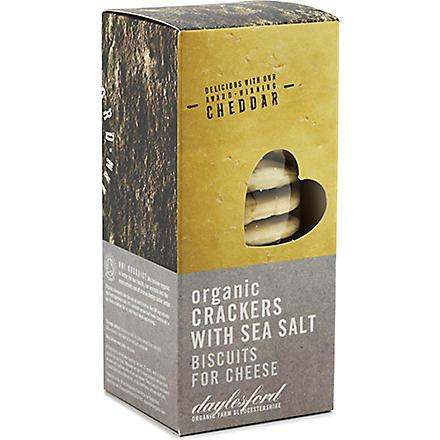 DAYLESFORD Organic crackers with sea salt 120g