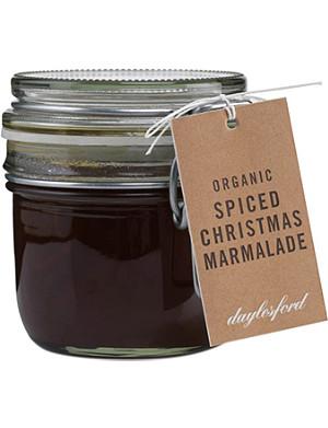DAYLESFORD Organic spiced Christmas marmalade