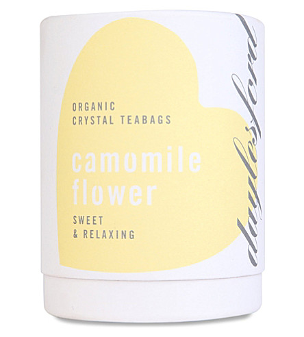 DAYLESFORD Organic Camomile Flower tea bags