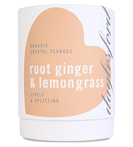 DAYLESFORD Organic Lemon and Ginger tea bags