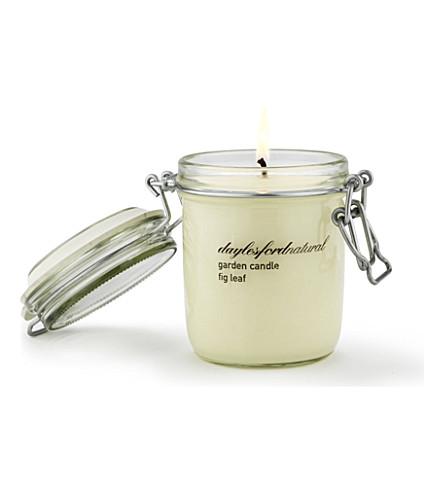 DAYLESFORD Fig Leaf large jar candle