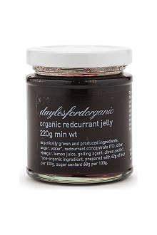 DAYLESFORD Organic redcurrant jelly 220g