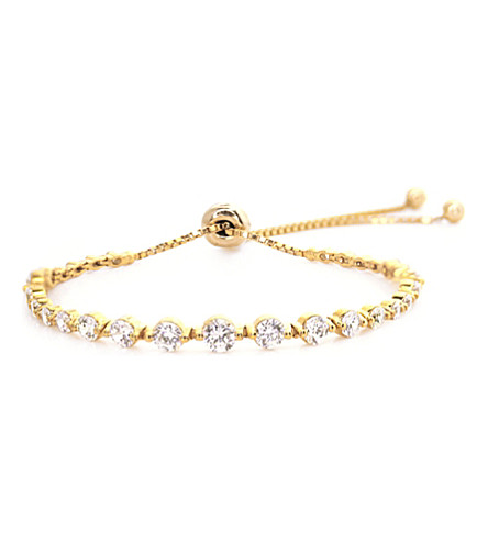 CARAT LONDON Grace gold-plated millennium bracelet (Yellow
