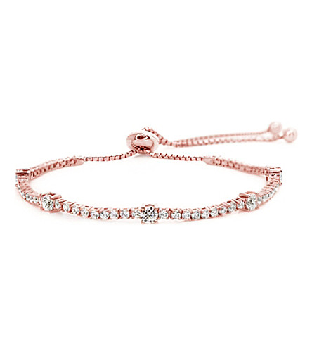 CARAT LONDON Phoebe rose gold-plated millennium bracelet (Rose