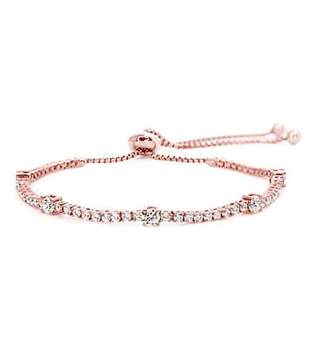 CARAT Phoebe rose gold-plated millennium bracelet (Rose