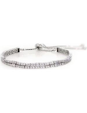CARAT Phoebe white gold millennium bracelet