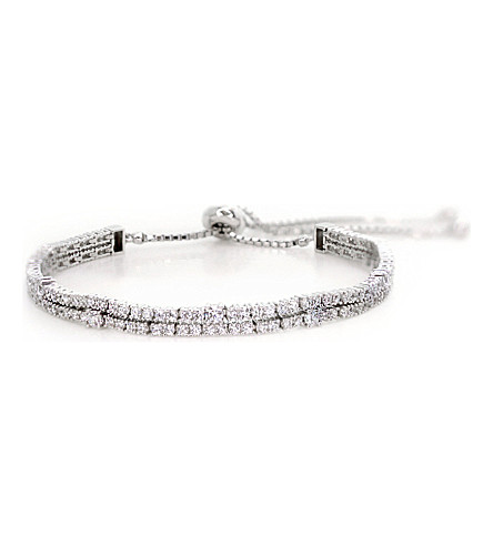CARAT LONDON Phoebe white gold millennium bracelet (White