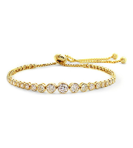 CARAT LONDON Quentin gold-plated Millennium bracelet (Yellow