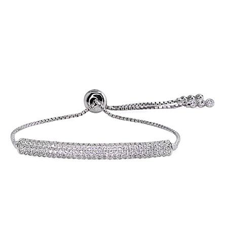 CARAT LONDON Electra millennium bracelet (White