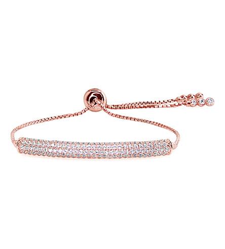 CARAT LONDON Electra millennium rose gold-toned bracelet (Rose