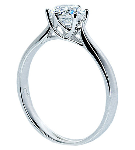 CARAT Rosy Round 2ct solitaire ring (White