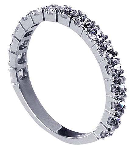 CARAT LONDON Eternity ring (White