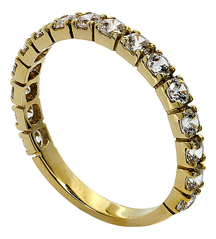 CARAT LONDON Eternity ring (Yellow