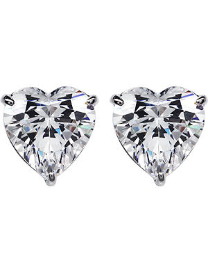 CARAT Hearts For You 0.75ct solitaire stud earrings