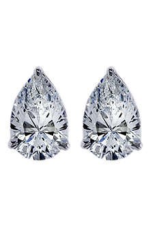 CARAT 0.75ct brilliant cut pear studs